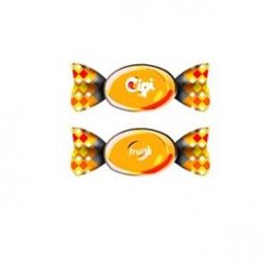 fructe portocala individuala