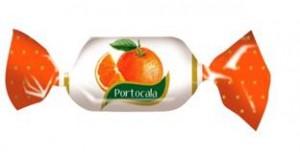 caramea portocala individuala