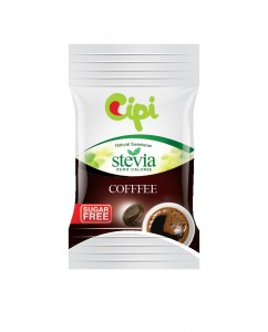 folie mica stevia 3D - coffee